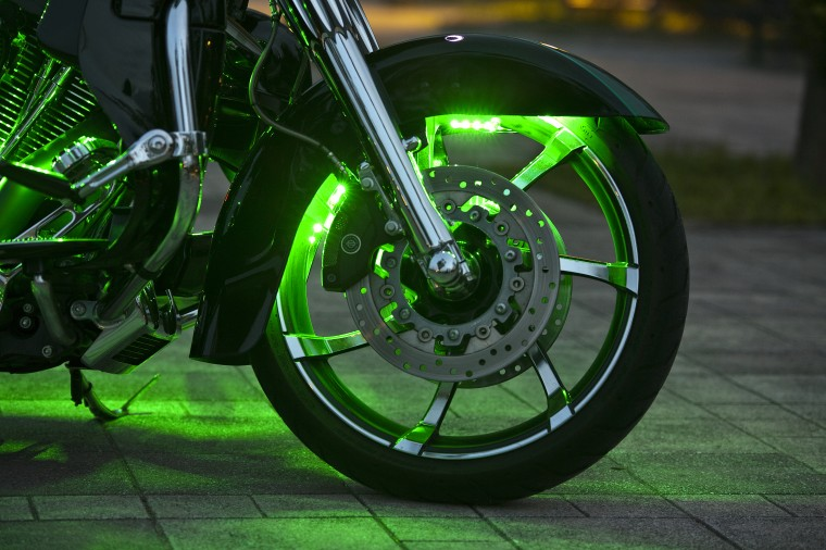 LED green hx front