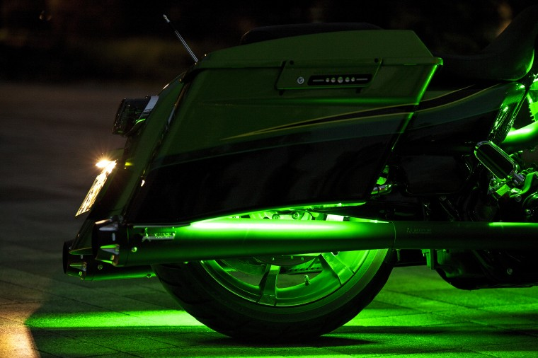 LED green hx rear