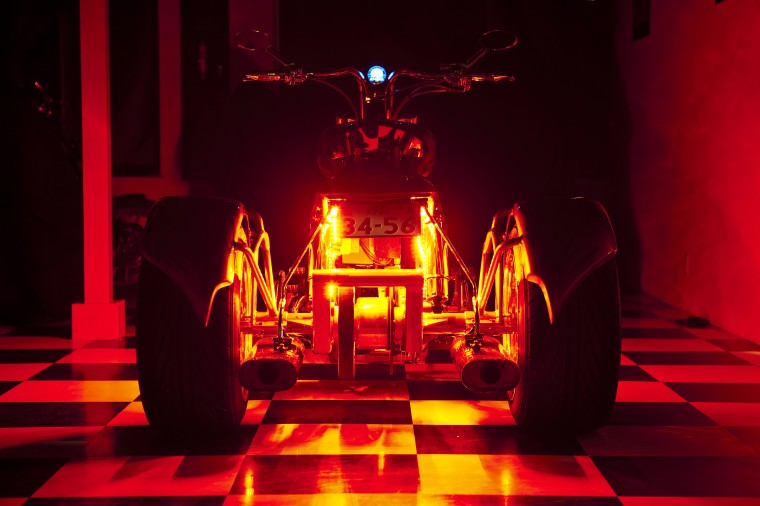 LED red trike rear